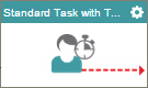Standard Task With Timeout (External Forms) activity