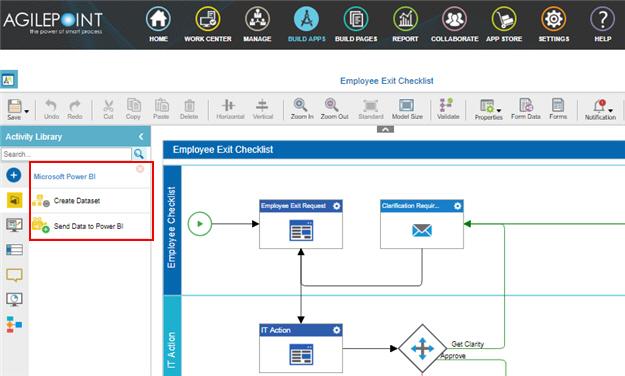 Process Activities for Power BI