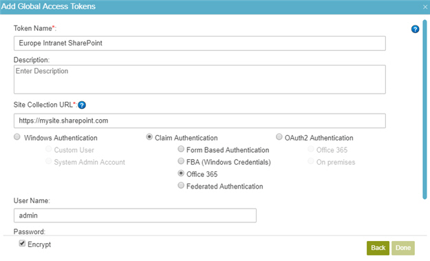 Access Token for SharePoint