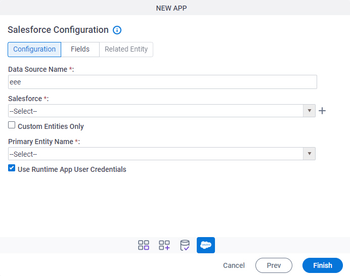 Salesforce Configuration Configuration tab