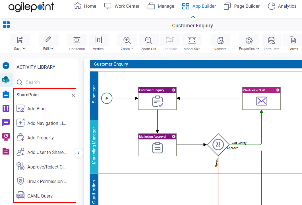 Process Activities for SharePoint