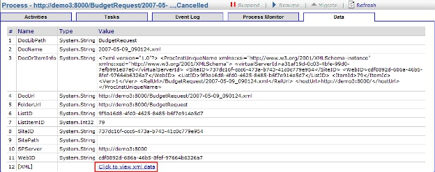 View InfoPath XML Data